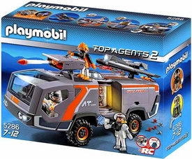 Playmobil Top Agent Set #5286 Spy Team Command Vehicle