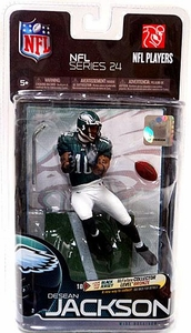 McFarlane Toys NFL Sports Picks Series 24 Action Figure DeSean Jackson (Philadelphia Eagles) Green Jersey