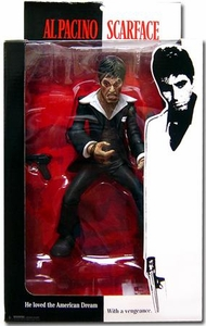 Mezco Toyz Scarface 10 Inch Stylized Action Figure Tony Montana [Black Suit]