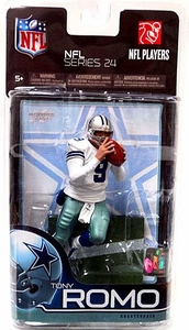 McFarlane Toys NFL Sports Picks Series 24 Action Figure Tony Romo (Dallas Cowboys)