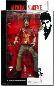 Mezco Toyz Scarface 10 Inch Stylized Action Figure Tony Montana [Hawaiian Shirt]
