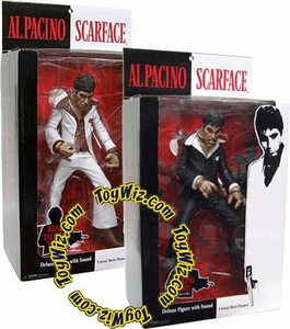 Mezco Toys 10 Inch Talking Scarface Set of 2 Action Figures