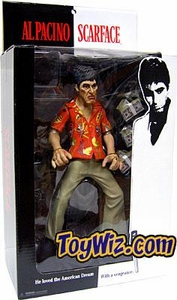 Mezco Toyz Scarface 10 Inch Roto Cast Action Figure The Runner {Random Facial Expression} [Hawaiin Shirt, NO Blood]