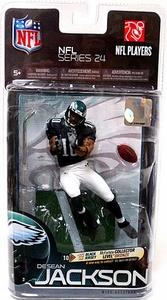 McFarlane Toys NFL Sports Picks Series 24 Action Figure DeSean Jackson (Philadelphia Eagles) Black Jersey BronzeCollector Level Chase Only 3,000 Made!