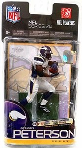 McFarlane Toys NFL Sports Picks Series 24 Action Figure Adrian Peterson (Minnesota Vikings) White Jersey Bronze Collector Level Chase Only 3,000 Made!