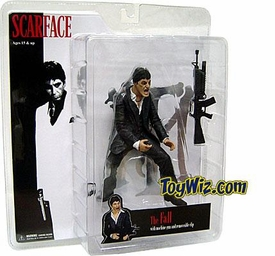 Mezco Toyz Scarface 7 Inch Realistic Action Figure Scarface 'The Fall' [Black Suit] BLOWOUT SALE!