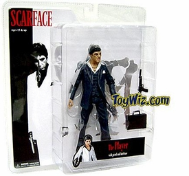 Mezco Toyz Scarface 7 Inch Realistic Action Figure Scarface 'The Player' [Blue Suit]