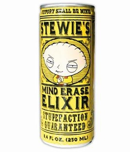 Energy Drink Family Guy Stewie's Mind Erase Elixir