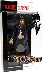 Mezco Toyz Scarface 10 Inch Roto Cast Action Figure The Rise