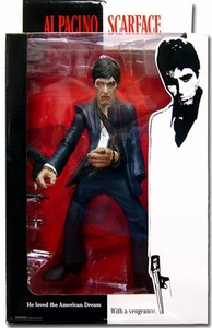Mezco Toyz Scarface 10 Inch Stylized Action Figure Tony Montana [Blue Suit, Arm in Sling]