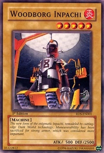 YuGiOh Rise of Destiny Single Card Common RDS-EN001 WoodBorg Inpachi