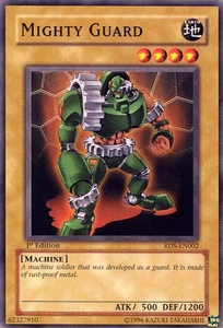 YuGiOh Rise of Destiny Single Card Common RDS-EN002 Mighty Guardian