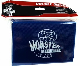 Monster Protectors Card Supplies Blue Double Deck Box