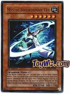 YuGiOh Rise of Destiny Single Card Ultra Rare RDS-EN008 Mystic Swordman LV6