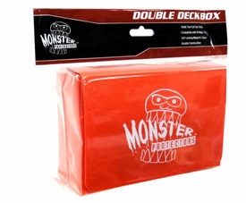 Monster Protectors Card Supplies Orange Double Deck Box