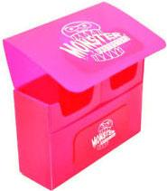 Monster Protectors Card Supplies Pink Double Deck Box