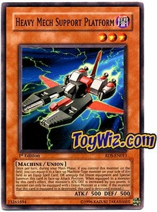 YuGiOh Rise of Destiny Single Card Common RDS-EN011 Heavy Mech Support Platform