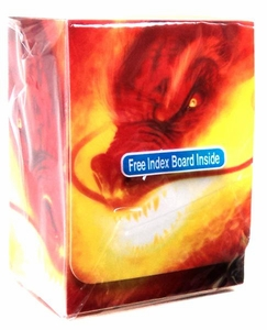Max Protection Card Supplies Deck Box Inferno Dragon