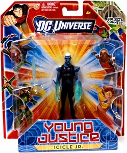 Young Justice 4 Inch Action Figure Icicle Jr. [Includes Build a Hall of Justice Piece]