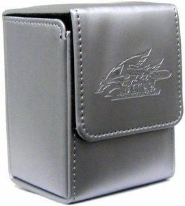 Konami Official YuGiOh Card Supplies Deck Box Silver