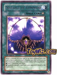 YuGiOh Rise of Destiny Single Card Rare RDS-EN040 Necklace of Command
