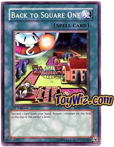 YuGiOh Rise of Destiny Single Card Common RDS-EN044 Back to Square One