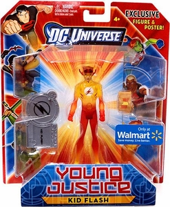 Young Justice Exclusive 4 Inch Action Figure Kid Flash [Translucent Variant]