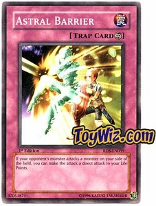 YuGiOh Rise of Destiny Single Card Common RDS-EN059 Astral Barrier