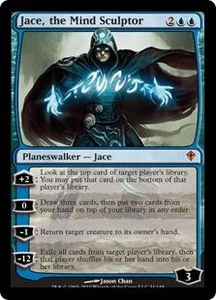 Magic the Gathering Worldwake Single Card Mythic Rare #31 Jace, the Mind Sculptor