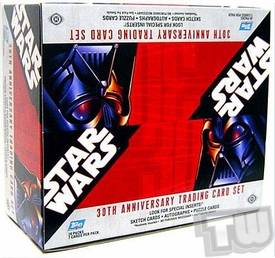Star Wars 30th Anniversary Topps Trading Cards Sealed Box [24 Packs]