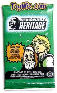 Topps Star Wars Hobby Edition Heritage Movie Trading Card Pack