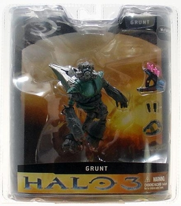 Halo 3 McFarlane Toys Series 1 Action Figure GREEN Grunt