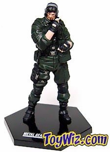 Metal Gear Solid Multi-Part PVC Art Statues Series 2 Solid Snake