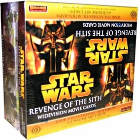Topps Star Wars Revenge of the Sith Movie WIDEVISION Trading Card Box [24 Packs]