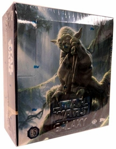 Topps Star Wars Galaxy Series 6 HOBBY EDITION Trading Cards Box [24 Packs]