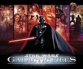 Star Wars Topps Galactic Files Series 1 Trading Card