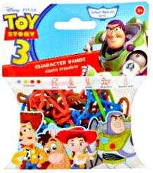 Disney Logo Bandz Shaped Rubber Band Bracelets 20-Pack Toy Story 3 [Version 1]