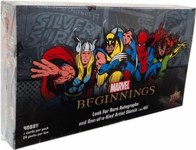 Upper Deck 2011 Marvel Beginnings Series 1 Trading Card Hobby Box [24 Packs]