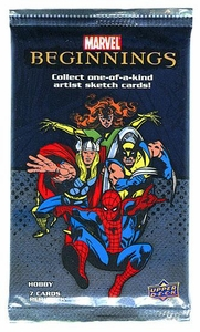 Upper Deck 2011 Marvel Beginnings Series 1 Trading Cards Pack