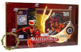 Skybox Marvel Masterpieces Series 2 Trading Card Box (36 Packs)