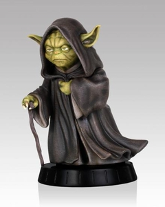 Star Wars Gentle Giant 12 Inch Statue Yoda Ilum New!