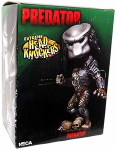 Predator NECA Extreme Head Knockers Predator Damaged Package, Mint Contents!