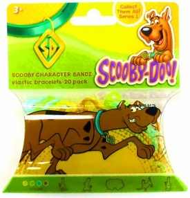 Logo Bandz Shaped Rubber Band Bracelets 20-Pack Scooby-Doo
