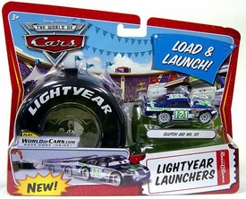 Disney / Pixar CARS Movie 1:55 Die Cast Car Lightyear Launchers Clutch Aid No. 121