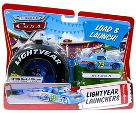Disney / Pixar CARS Movie 1:55 Die Cast Car Lightyear Launchers Rev N' Go