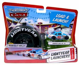 Disney / Pixar CARS Movie 1:55 Die Cast Car Lightyear Launchers Bumper Save