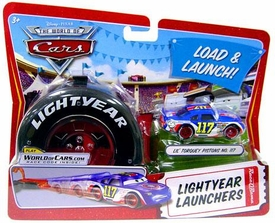 Disney / Pixar CARS Movie 1:55 Die Cast Car Lightyear Launchers Lil' Torquey Pistons