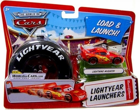 Disney / Pixar CARS Movie 1:55 Die Cast Car Lightyear Launchers Lightning McQueen