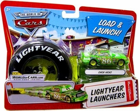 Disney / Pixar CARS Movie 1:55 Die Cast Car Lightyear Launchers Chick Hicks