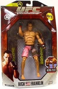 UFC Jakks Pacific Series 4 Deluxe Action Figure Rich Franklin